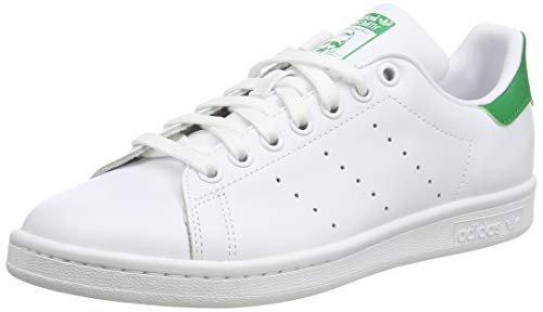 adidas Originals Men's Stan Smith Leather Sneaker, Footwear White/Core