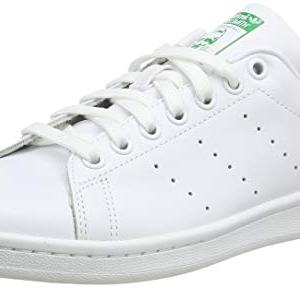 adidas Originals Men's Stan Smith Leather Sneaker, Footwear White/Core