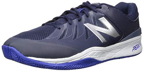 New Balance Men's Hard Court Tennis Shoe, Pigment/uv Blue