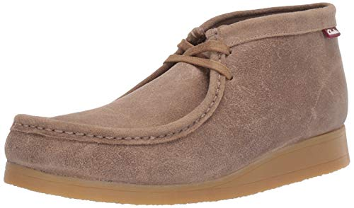 Clarks Men's Stinson Hi Fashion Boot, Taupe Distressed Suede