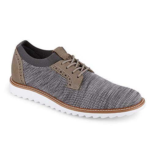 Dockers Mens Einstein Knit/Leather Smart Series Dress Casual Oxford Shoe