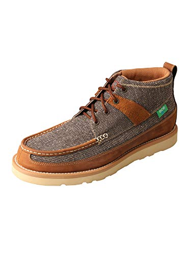 Twisted X Men's Wedge Sole Boots Dust/Brown