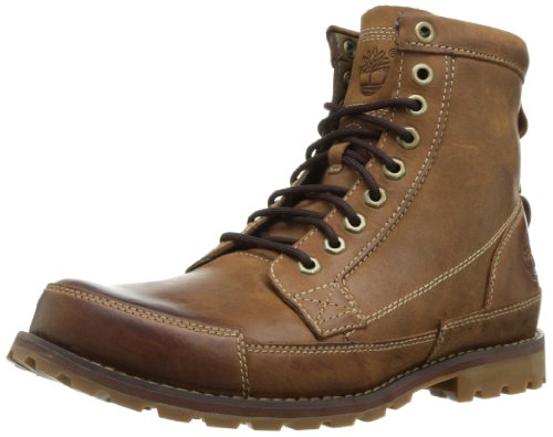 """Timberland Men's Earthkeepers 6"""" Lace-Up Boot, Burnished Brown"""