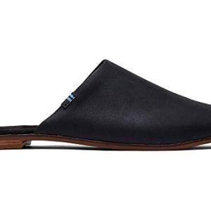 TOMS Women's Jutti Mule Black Leather
