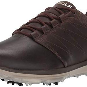 Skechers Men's Pro 4 Waterproof Golf Shoe, Chocolate
