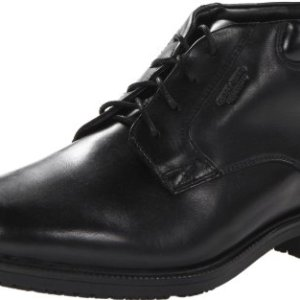 Rockport Men's Essential Details Water Proof Chukka Boot,Black