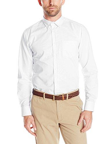 IZOD Uniform Men's Young Long Sleeve Button-Down Oxford Shirt