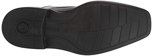 ECCO Men's Minneapolis Boot, Black Long Lasting, direct-injected, light and flexible polyurethane outsole Removable textile covered inlay sole and textile lining Contemporary squared toe shape and timeless upper patterns with refined details ECCO leather uppers ECCO freedom fit is snug in the heel and roomy in the fore-foot and fits a variety of Widths and promotes good circulation for your feet Modern bike toe ankle-high boot in full grain leathers, styling combines masculinity and comfort.
