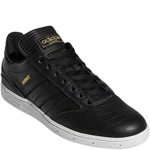 adidas Originals Men's Busenitz Sneaker, Black/Gold Metallic/White