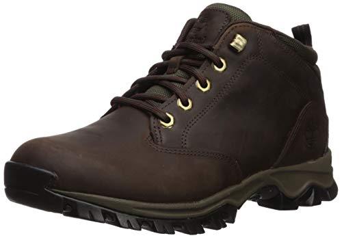Timberland Men's Mt. Maddsen Waterproof Chukka Boot, Dark Brown Full Grain