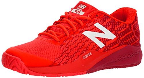 New Balance Men's Hard Court Tennis Shoe, Flame