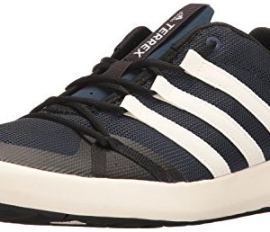 adidas outdoor Men's Terrex Climacool Boat Water Shoe, Collegiate Navy/Chalk
