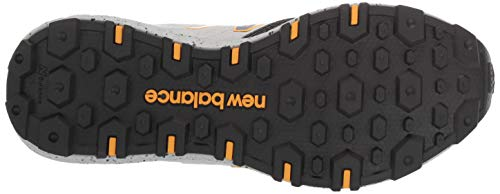 New Balance Men's Crag V1 Fresh Foam Running Shoe MARBLEHEAD/BLACK Ultimate Off-Road shoe: make Off-Road running a smoother ride. The New Balance fresh Foam Crag trail running Shoe boasts data-driven technology and trail-specific features that bring speed and traction to any route Fresh Foam midsole: these running shoes are built with fresh Foam midsole cushioning, precision engineered to deliver an ultra-cushioned, lightweight ride. One single piece of foam provides a plush feeling at every step At TREAD outsole: made for any terrain, these trail running shoes feature a durable rubber outsole with at TREAD, which provides versatile traction during both on and off-road activities. This technology helps to stabilize your run Bootie Construction: featuring a unique slip-on design with laces and a bootie construction, these cushioned running shoes let you customize your fit. Hugging your foot in all the right places, they provide a feeling that's snug and secure 8mm drop: these running shoes feature a heel-to-toe drop of approximately 8mm. Due to variances created during development and manufacturing processes, references to 8mm are approximate closure type: Lace Up Pull on the Fresh foam Crag running shoes and hit the trails. With a trail-inspired silhouette and data-driven trail technology built in, these shoes are bound to become your new favorites for hiking, off-road running and more. These trail running shoes are ultra-comfortable and built to give you more traction when you need it most. These comfortable running shoes are designed with a bootie construction and attached tongue for an effortless slip-on fit and feel. This leads to a distraction-free run on the trails. Spend less time shifting and fixing your shoes, and more time on the run. The two proprietary technologies built into these runners are made to provide you with more comfort and grip for a smoother running experience. Fresh foam cushioning in the midsole delivers an ultra-cushioned, lightweight rid