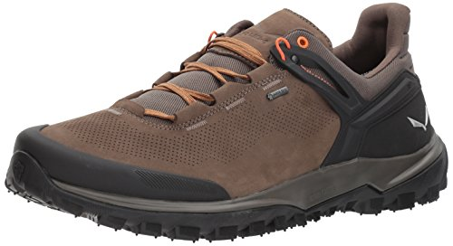Salewa Men's Wander Hiker GTX Hiking Shoe, Walnut/New Cumin, 12