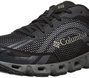 Columbia Men's Drainmaker IV Water Shoe, Black, lux