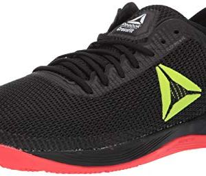 Reebok Men's CROSSFIT Nano 8.0 Flexweave Cross Trainer, Black/Neon Red/Neon Lime/White, 7 M US