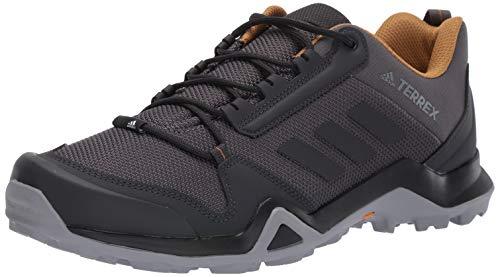 adidas outdoor Men's Terrex AX3 Hiking Boot, Grey Five/Black/Mesa
