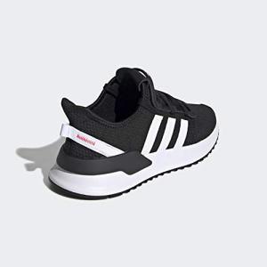 adidas Originals Kids Unisex's U_Path Run Sneaker, Black/White/Shock red