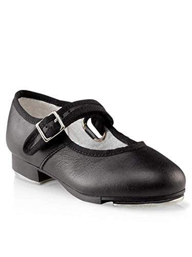 Capezio Mary Jane Tap Shoe (Little Kid/Big Kid),Black