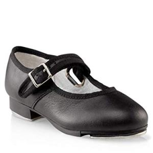Capezio Mary Jane Tap Shoe (Little Kid/Big Kid),Black
