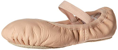 Bloch Dance Girl's Belle Full-Sole Leather Ballet Slipper/Shoe, Pink
