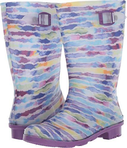 Kamik Girls' RAINPAINT Rain Boot, Purple