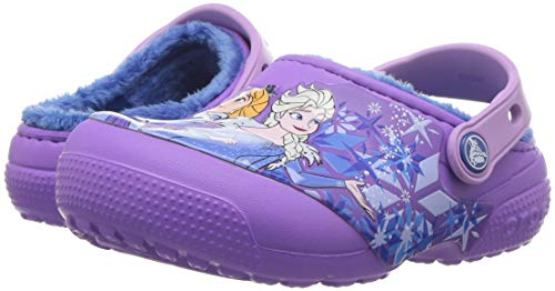 Crocs Fun Lab Lined Frozen Clog, Purple