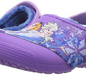 Crocs Fun Lab Lined Frozen Clog, Purple