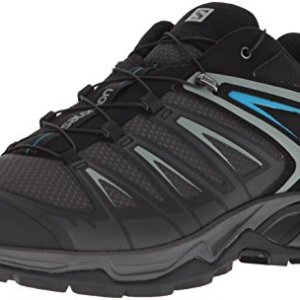 Salomon Men's X Ultra 3 Hiking Shoes, PHANTOM/Black/Hawaiian Surf, 10