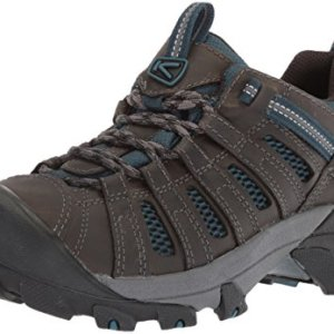 KEEN Men's Voyageur-M Hiking Shoe, Alcatraz/Legion Blue, 9.5 M US