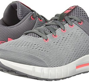 Under Armour Girls' Grade School Pursuit Sneaker, Zinc Gray