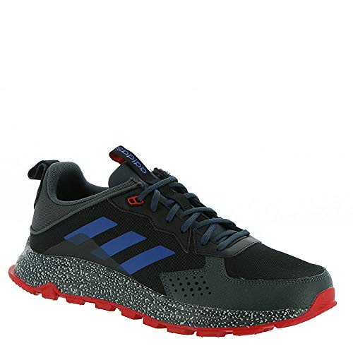 adidas Men's Response Trail Running Shoe, core Black/Team Royal Blue/Grey Six