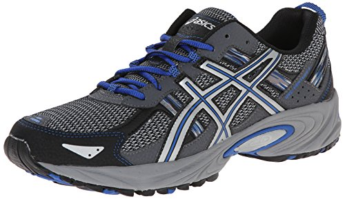 ASICS Men's Gel-Venture 5-M, Silver/Light Grey/Royal