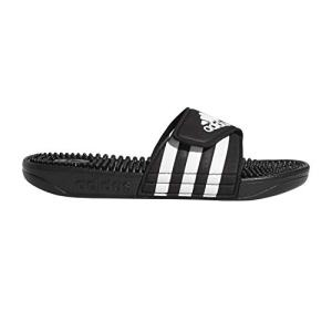 adidas Unisex Adissage, White/Black