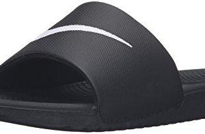 Nike Men's Kawa Slide Athletic Sandal, Black/White