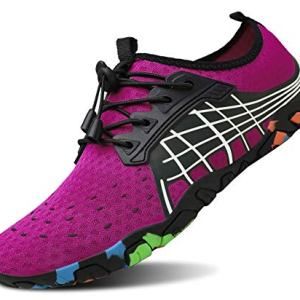 kealux Men Women Barefoot Quick-Dry Water Sports Shoes Multifunctional