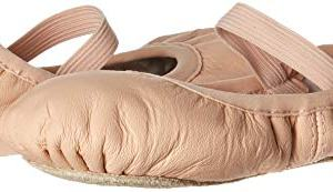 Bloch Dance Girl's Belle Full-Sole Leather Ballet Slipper/Shoe, Pink