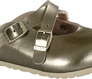 Birkenstock Dorian Kids Clogs, Soft Metallic Gold