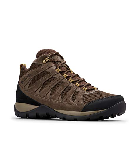 Columbia Men's Redmond V2 MID Waterproof Hiking Shoe, Cordovan