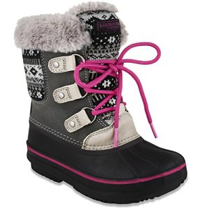 LONDON FOG Girls Tottenham Cold Weather Snow Boot