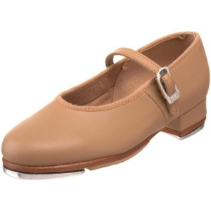 Bloch Girls Tap Shoe, Tan
