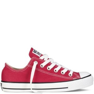 Converse Unisex Chuck Taylor All Star Ox Low Top Classic Red Sneakers - 9 Men 11 Women