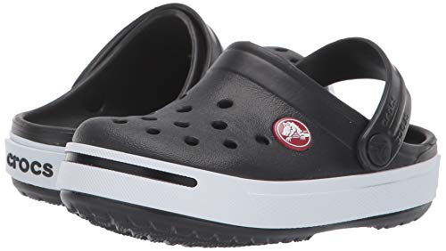Crocs Kids Crocband II (Toddler/Little Kid) Black/White