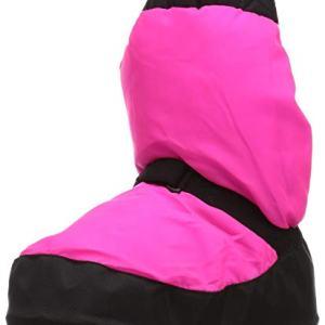 Bloch Girls Bootie Warm Up Boot/Slipper, Fluorescent Pin