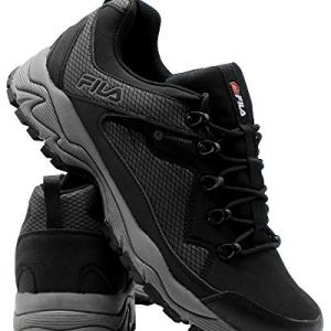 Fila Men's Switchback 2 Water Proof Hiking Shoe Black/Grey