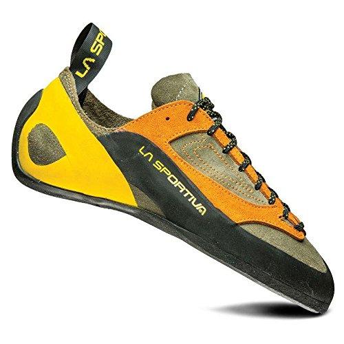 La Sportiva Finale Climbing Shoe, Brown/Orange, 40.5