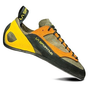 La Sportiva Finale Climbing Shoe, Brown/Orange, 40.5