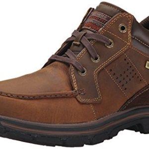 Skechers Men's Segment Melego Chukka Boot, Dark Brown