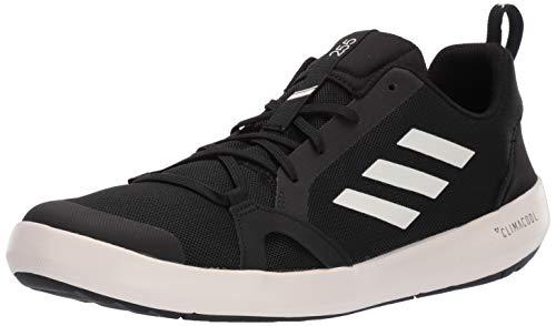 adidas Men's Terrex CC Boat Water Shoe, Chalk White/Black
