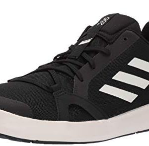adidas Men's Terrex CC Boat Water Shoe, Chalk White/Black